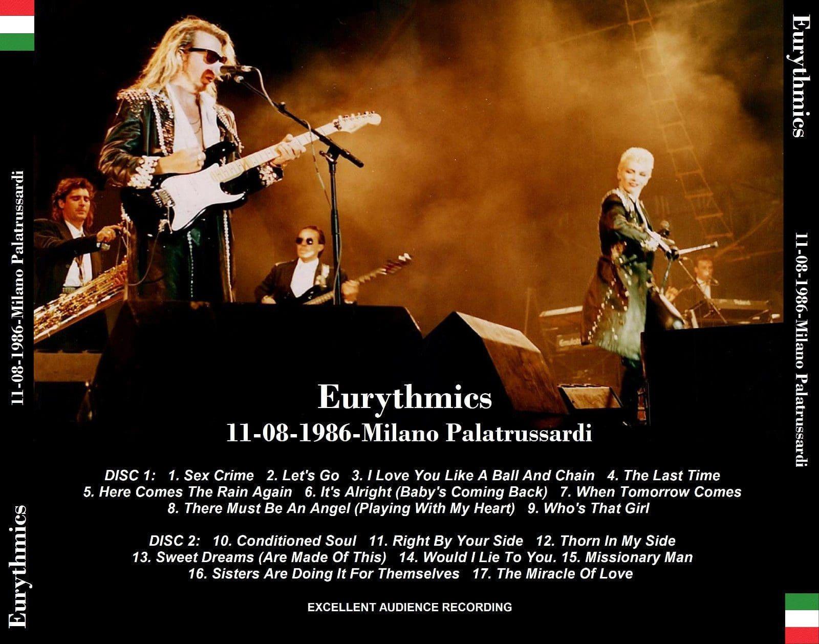 5086 Eurythmics Bootlegs The Revenge Tour UK CD 03 - Ultimate