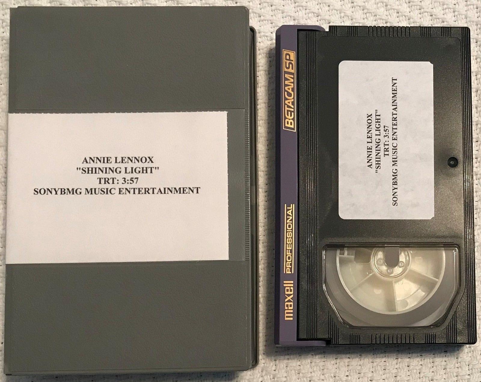5089 - Annie Lennox - Videopromo - Shining Light - USA - Promo Video - None