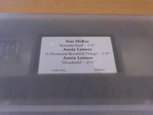 5093 - Annie Lennox - A Thousand Beautiful Things - UK - Promo Video - None