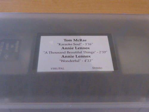 5094 - Annie Lennox - Wonderful - UK - Promo Video - None