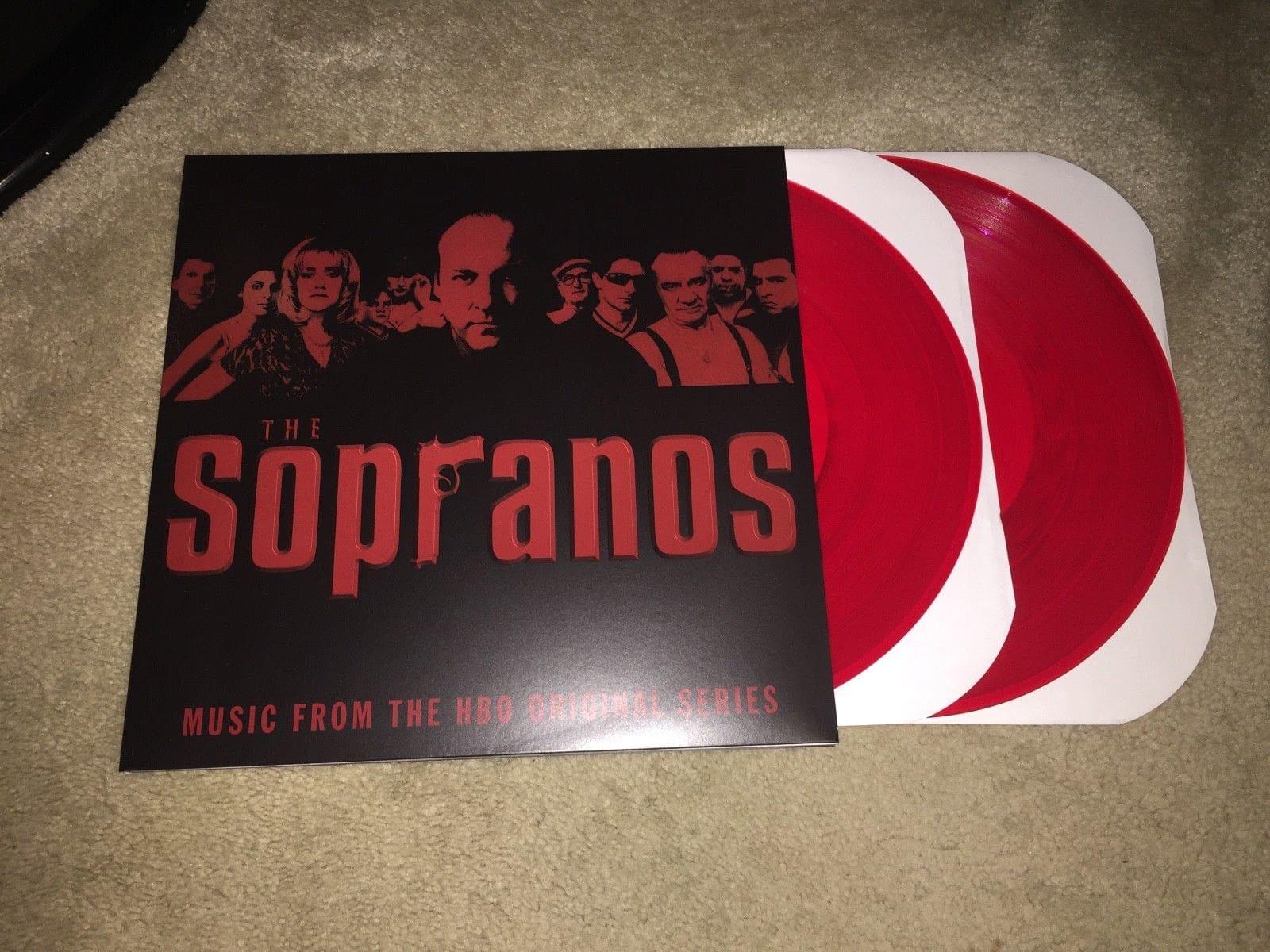5098 - Eurythmics - (On a soundtrack) - The Sopranos - USA - LP - SRC074