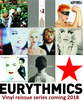 Eurythmics Vinyl Reissue Series 2018