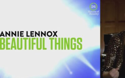 Watch Annie Lennox performing 1000 Beautiful Things for 24 Hours Of Reality