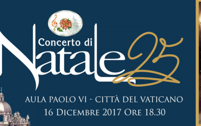 Annie Lennox to perform at The Vatican's Concerto Di Natale and will be broadcast on TV on Christmas Eve