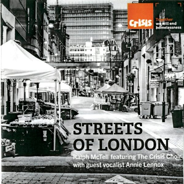5102 - Annie Lennox and Ralph McTell - Streets Of London - UK - Promo CD Single - None