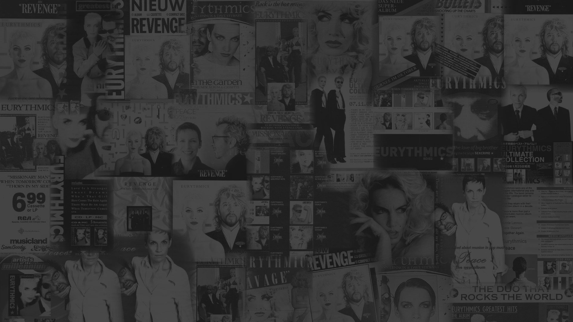 Ultimate Eurythmics Annie Lennox Dave Stewart Advert Gallery Background 04