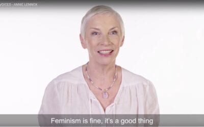 """Feminism is fine, it's a good thing"" – Annie Lennox's message ahead of the World Economic Forum Annual Meeting 2018"