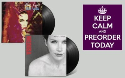 2nd March 2018 see's Annie Lennox's first 2 solo album re-released on vinyl