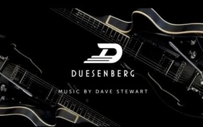 Listen to Dave Stewart's music in Duesenberg's new advert for their Stardust series of guitars