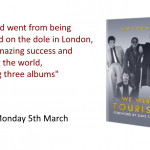 We Were Tourists, Jim Toomey's upcoming autobiography will be released on Monday 5th March