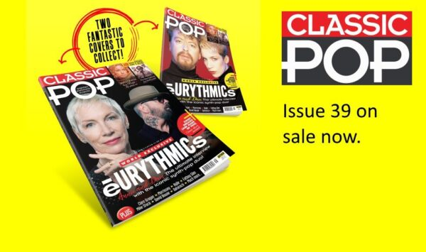 Classic Pop Magazine Eurythmics 2 Covers To Collect Banner