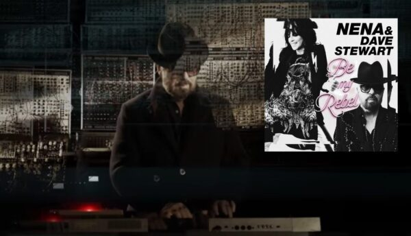 Dave Stewart and Nena Be My Rebel 2018 Ultimate Eurythmics Banner