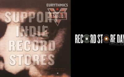The Eurythmics 1984 album to get a red vinyl release on UK Record Store Day on April 21st