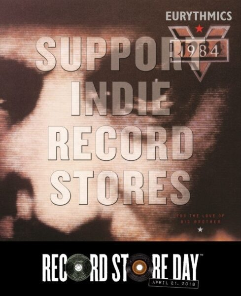 Eurythmics 1984 Record Store Day 2018 Banner