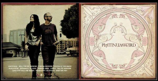 Memorabilia Artwork Platinum Weird Album Platinum Weird11