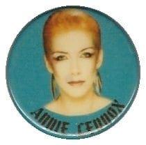 Memorabilia Badges Annie Lennox Irish pin