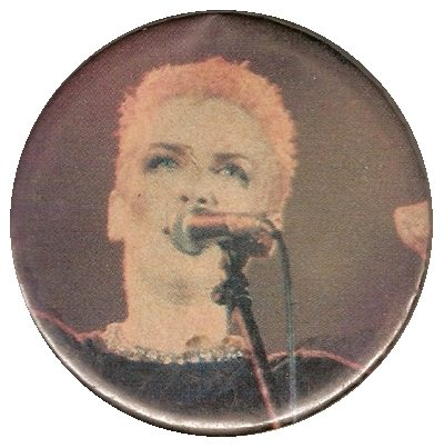Memorabilia Badges Annie Lennox performance pin
