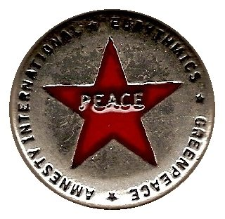 Memorabilia Badges Eurythmics Peace 01
