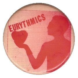 Memorabilia Badges Eurythmics Sweet Dreams 09