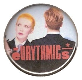 Memorabilia Badges Eurythmics Sweet Dreams 12