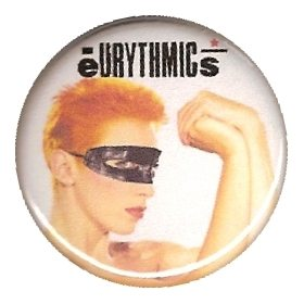 Memorabilia Badges Eurythmics Touch 10