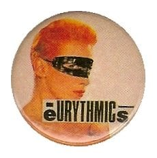 Memorabilia Badges Eurythmics Touch 19