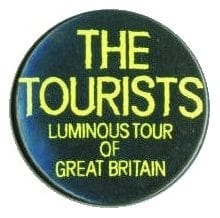 Memorabilia Badges The Tourists Round Pin 11