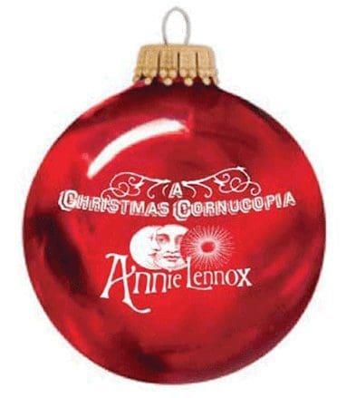 Memorabilia Christmas Decorations Cards Annie Lennox Sing 02