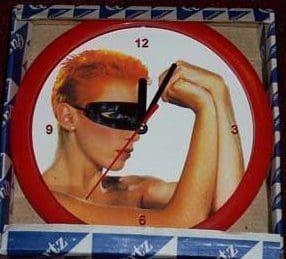 Memorabilia Clocks Eurythmics Touch 01