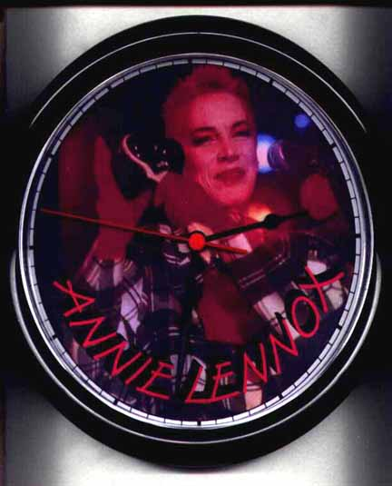 Memorabilia Clocks Eurythmics Touch 02