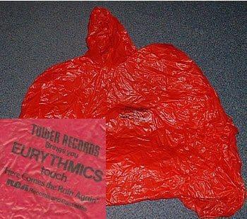 Memorabilia Jackets Eurythmics Here Comes The Rain Again 01