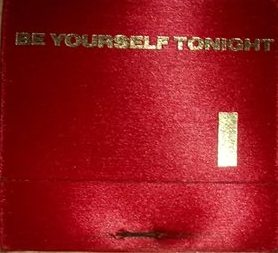 Memorabilia Match Book Eurythmics Be Yourself Tonight 01