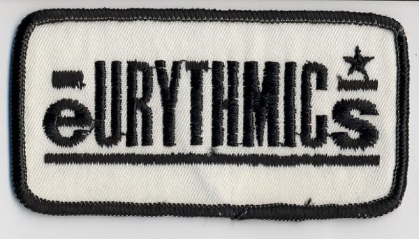 Memorabilia Patches Eurythmics 01