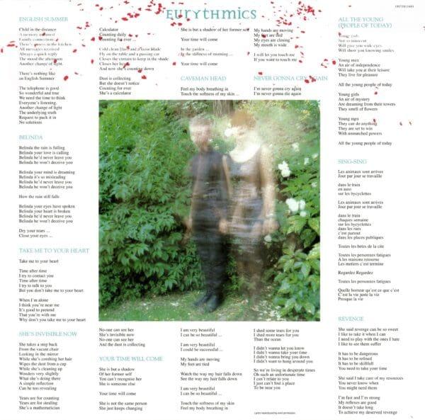 5390 Eurythmics In The Garden UK LP 19075811601 05