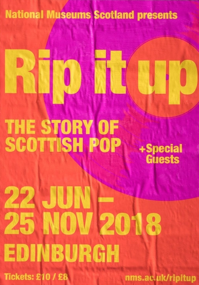 Annie Lennox Rip It Up The Story Of Scottish Pop Banner