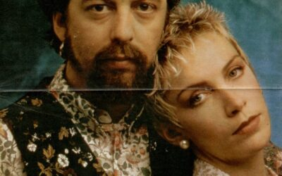 Eurythmics Posters from Music Magazines No. 6 in a series
