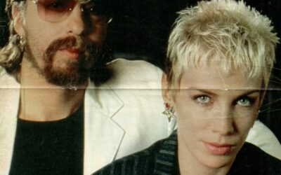 Eurythmics Posters from Music Magazines No. 7 in a series