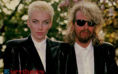 Eurythmics Posters from Music Magazines No. 10 in a series