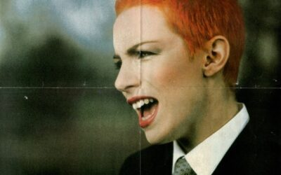 Eurythmics Posters from Music Magazines No. 24 in a series