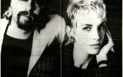 Eurythmics Posters from Music Magazines No. 28 in a series