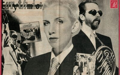 Eurythmics Posters from Music Magazines No. 32 in a series