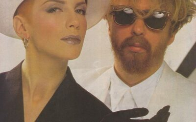 Eurythmics Posters from Music Magazines No. 34 in a series