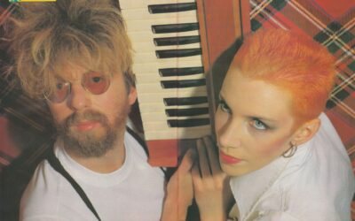 Eurythmics Posters from Music Magazines No. 35 in a series