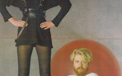 Eurythmics Posters from Music Magazines No. 37 in a series
