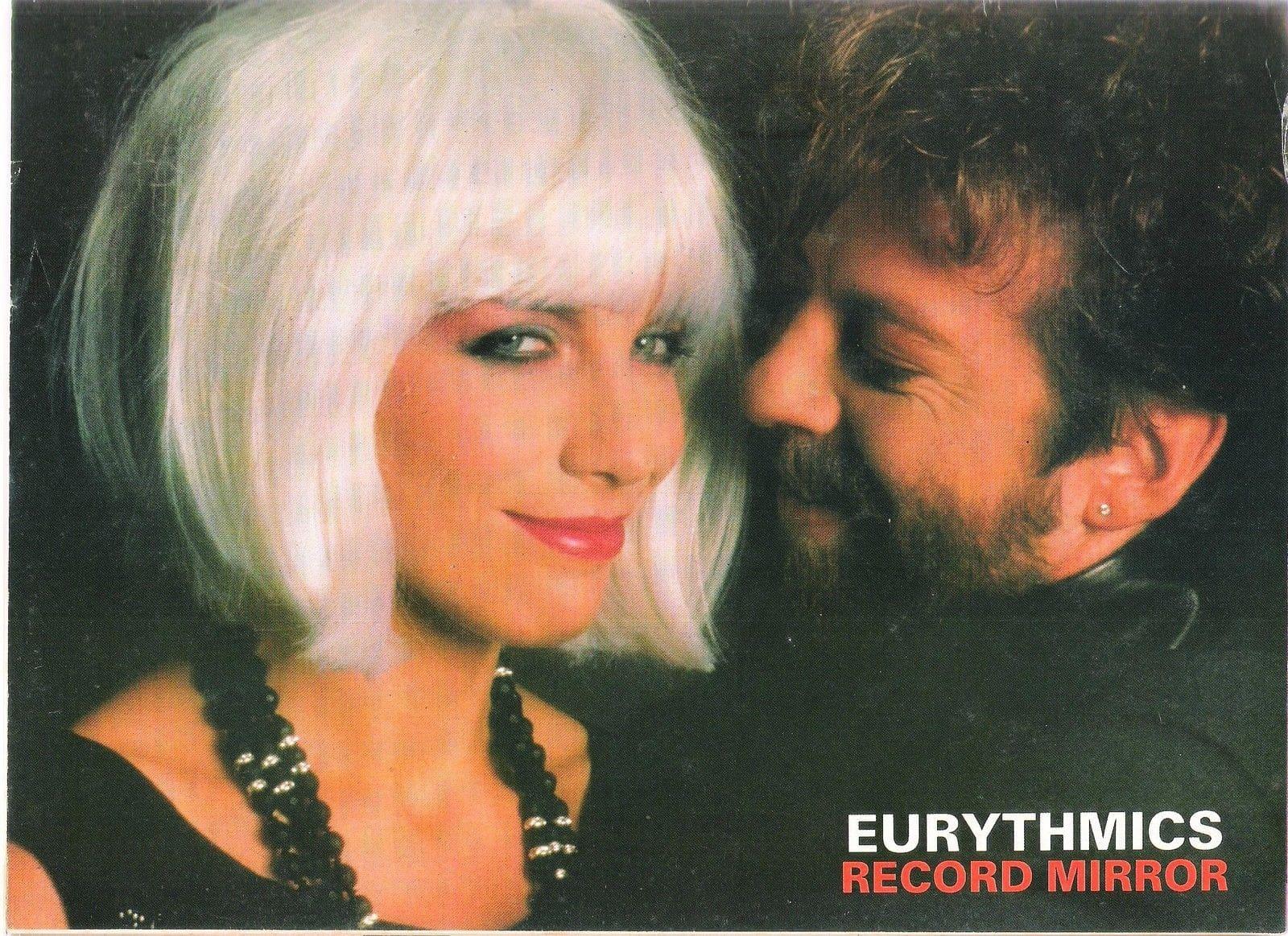 Memorabilia Eurythmics Magazine Posters 68