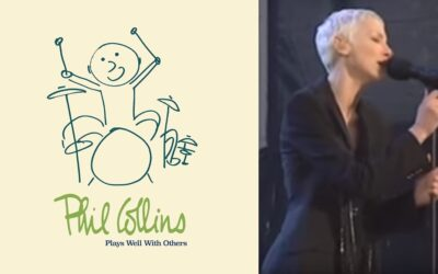 """Annie Lennox features on Phil Collins forthcoming album """"Plays Well With Others"""""""