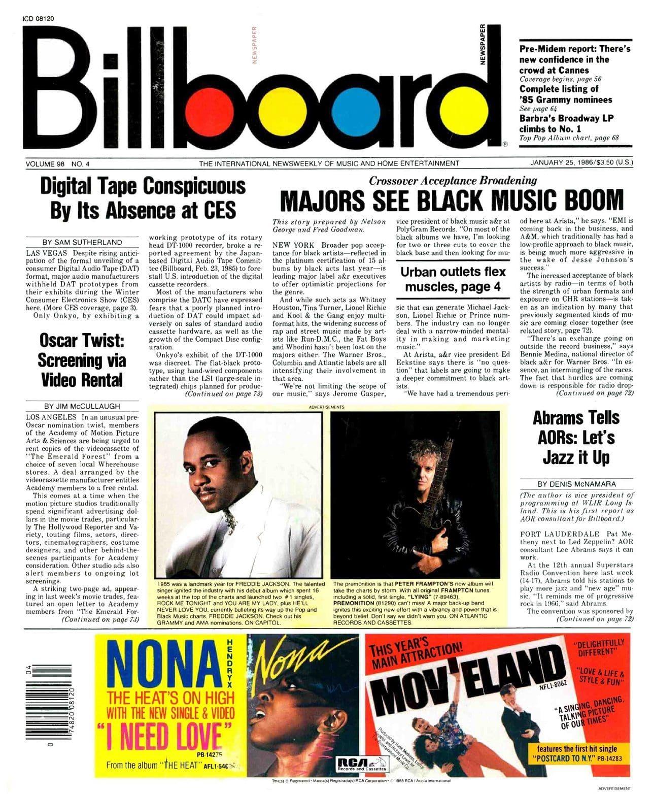 Ultimate Eurythmics Archives : Dave Stewart - Billboard Magazine