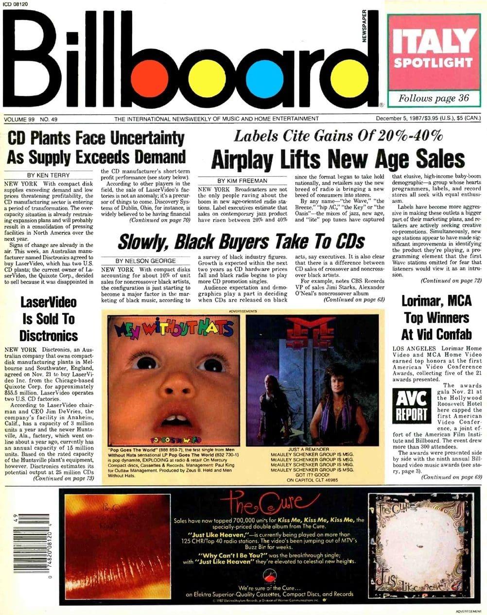 Ultimate Eurythmics Archives : Eurythmics - Billboard Magazine - 05