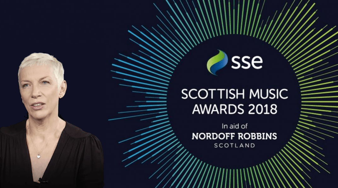 Annie Lennox to be Inducted at The Scottish Music Awards 2018 in Glasgow on the 1st December.