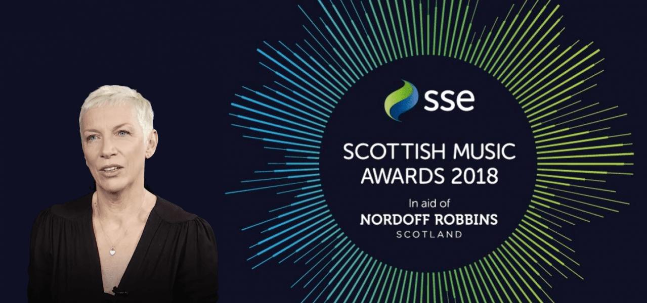Annie Lennox SSE Scottish Music Awards 2018 Nordoff Robbins